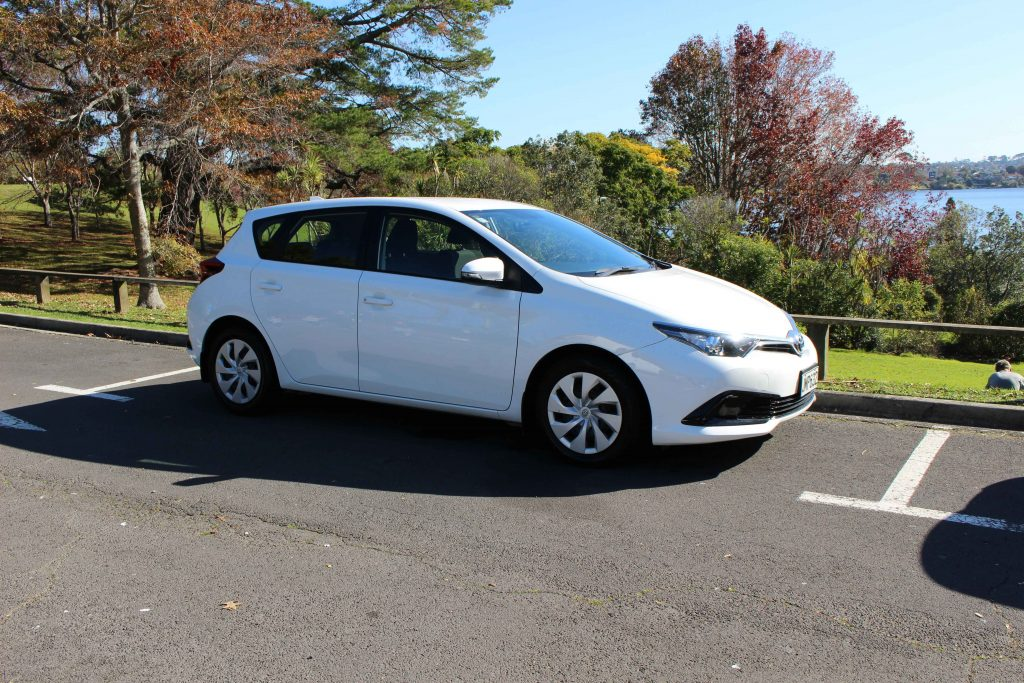 shore rentals compact car