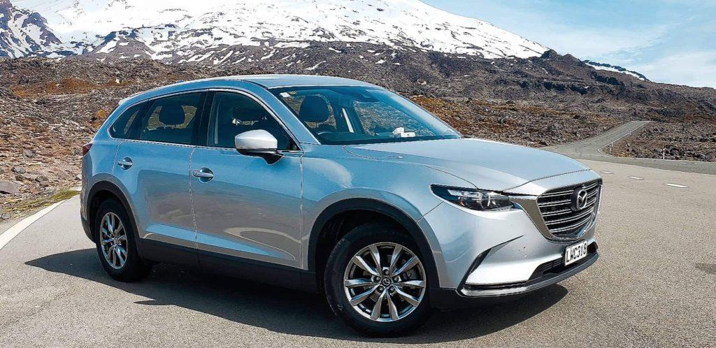 Shore Rentals 7 seater Mazda CX9's up at Mount Ruapehu