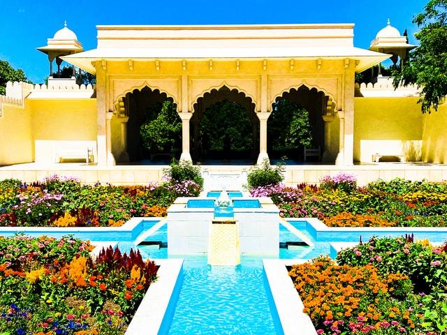 The Indian Char Bagh Garden at Hamilton Gardens