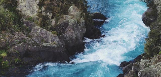 Aratiatia rapids, taupo